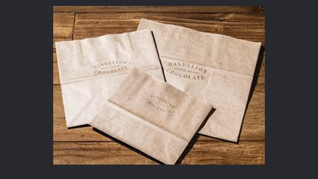 ダンデライオンの紙袋