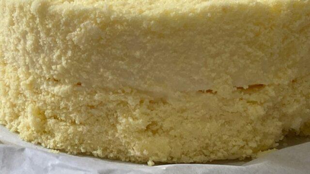 ドゥーブルフロマージュのレアチーズ部分