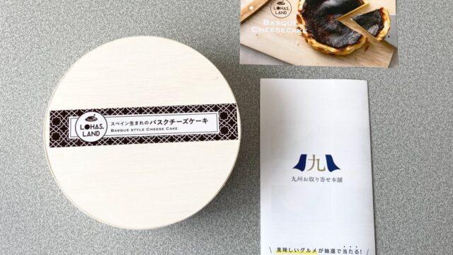 九州お取り寄せ本舗のバスクチーズケーキの中身