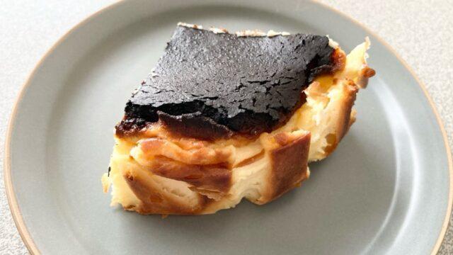 九州お取り寄せ本舗のバスクチーズケーキの後ろ
