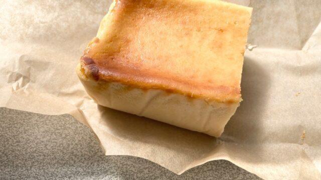 クリームチーズケーキとご対面