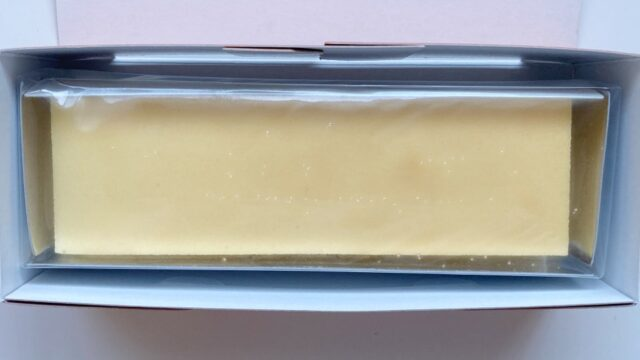 幻のチーズケーキを開けると