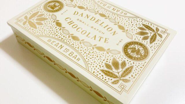 ダンデライオン・チョコレートのクッキーのデザイン